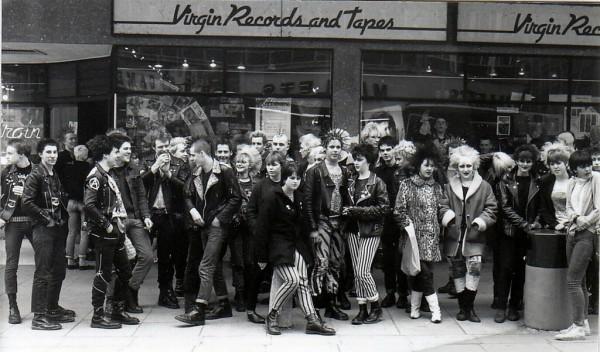 Bristoli punkok, 1980 - Forrás: