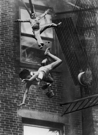 Stanley J- Forman: fire on Marlborogh Street