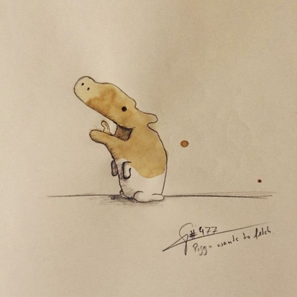 I-draw-coffee-monsters-from-random-coffee-stains.1__605