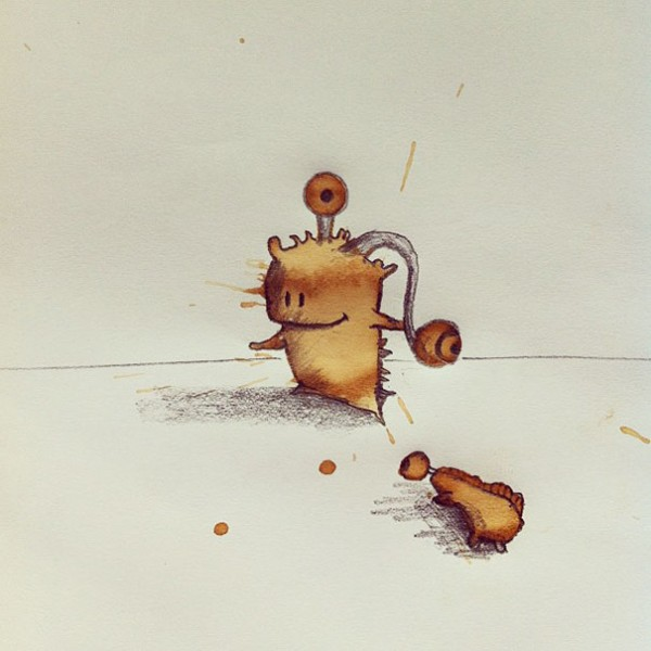 I-draw-coffee-monsters-from-random-coffee-stains.8__6051